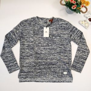 Seven For All Mankind Kids Textured Long Sleeve